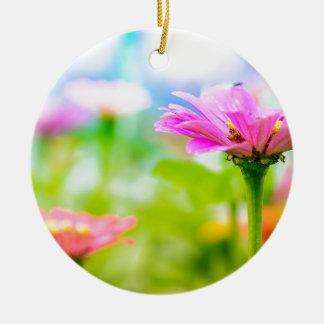 Ornamento De Cerâmica Flores da manhã