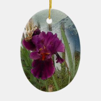 Ornamento De Cerâmica Flores da montanha
