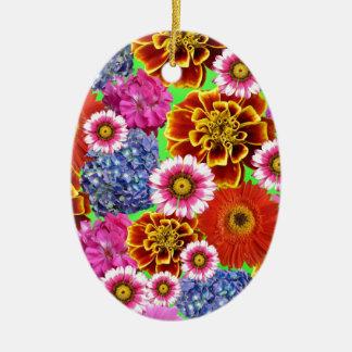 Ornamento De Cerâmica Flores de maio