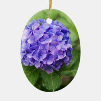 Ornamento De Cerâmica Flores de um hydrangea do francês (macrophyl do