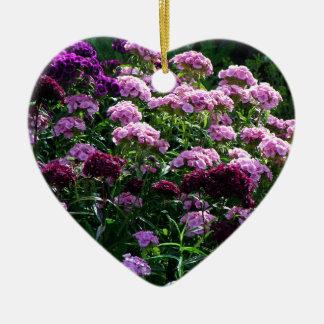 Ornamento De Cerâmica Flores doces de William