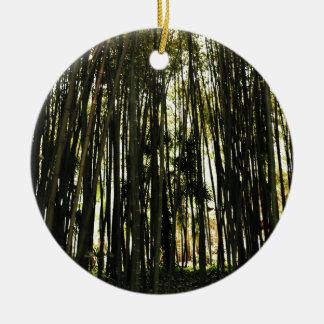 Ornamento De Cerâmica Floresta de bambu