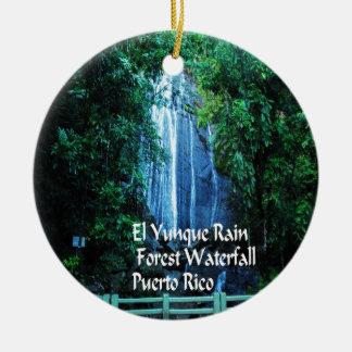 Ornamento De Cerâmica Floresta húmida do EL Yunique