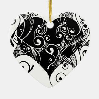Ornamento De Cerâmica flourish