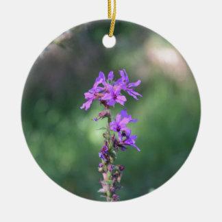 Ornamento De Cerâmica flower_purple.JPG