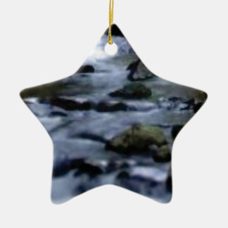Ornamento De Cerâmica fluxo descendente da angra