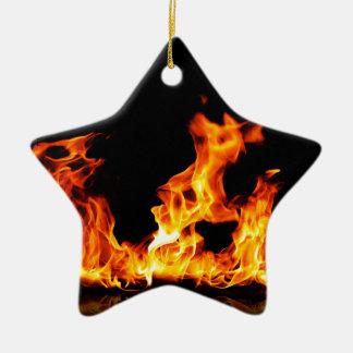 Ornamento De Cerâmica fogo quente