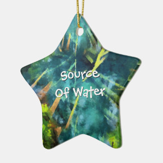 Ornamento De Cerâmica Fonte de água