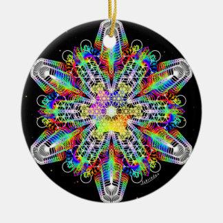 Ornamento De Cerâmica Força/profundamente paz internas