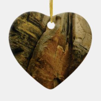 Ornamento De Cerâmica forma e formulário da rocha