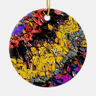 Ornamento De Cerâmica Formas e cores de deslocamento