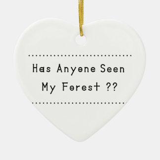 Ornamento De Cerâmica Forrest