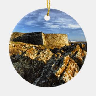Ornamento De Cerâmica Fortaleza de Areosa