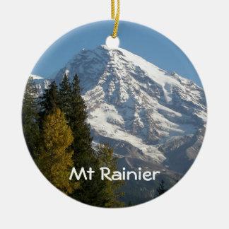 Ornamento De Cerâmica Foto da opinião do Monte Rainier