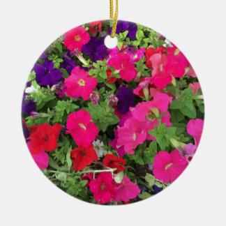 Ornamento De Cerâmica Foto das flores