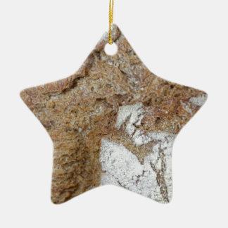 Ornamento De Cerâmica Foto macro da superfície do pão de mistura