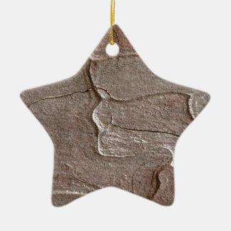 Ornamento De Cerâmica Foto macro do latido do pinho
