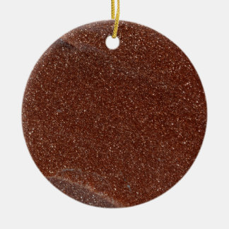 Ornamento De Cerâmica Foto macro do vidro de Goldstone