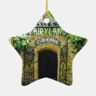 Ornamento De Cerâmica Fotografia da natureza das cavernas do Fairyland