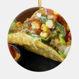Ornamento De Cerâmica fotografia mexicana deliciosa do Tacos