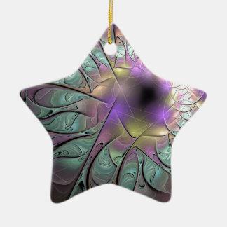 Ornamento De Cerâmica Fractal bonito