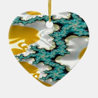 Ornamento De Cerâmica fractal do suporte da safira