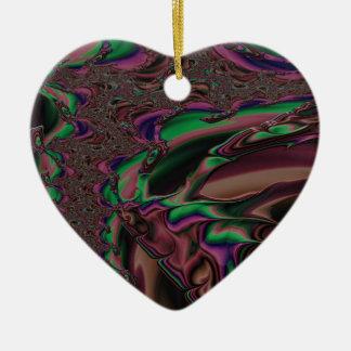 Ornamento De Cerâmica fractal reverent da magnanimidade