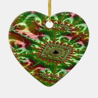 Ornamento De Cerâmica Fractal thunderstruck do skein