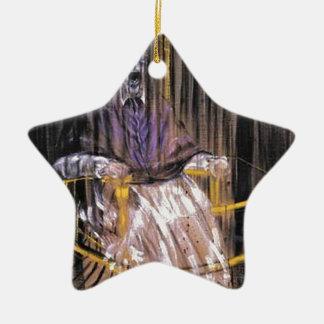 Ornamento De Cerâmica Francis Bacon - papas gritando