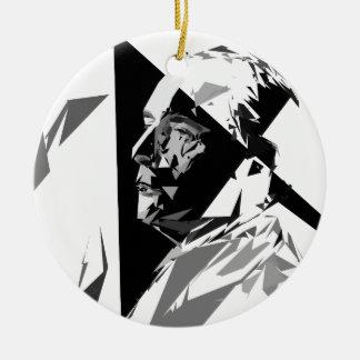 Ornamento De Cerâmica François Mitterrand