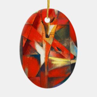 Ornamento De Cerâmica Franz Marc as raposas