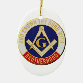 Ornamento De Cerâmica fraternidade