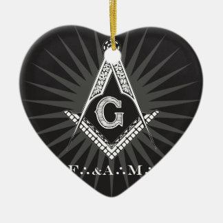 Ornamento De Cerâmica Free-and-Accepted-Masonry-Logo-2016040740