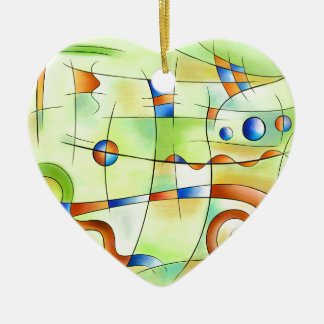 Ornamento De Cerâmica Frenesia - mundo louco