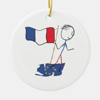 Ornamento De Cerâmica Frexit
