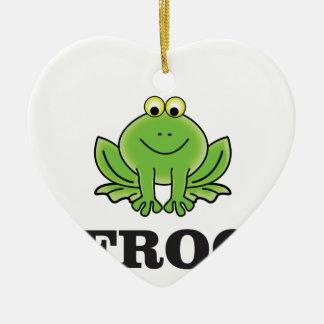 Ornamento De Cerâmica frogger do sapo