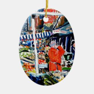 Ornamento De Cerâmica fruitnvegstall