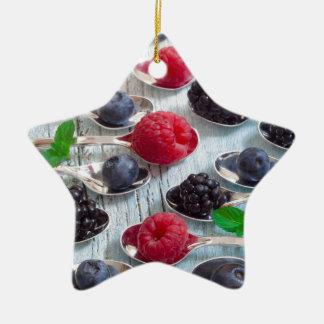 Ornamento De Cerâmica fruta de baga