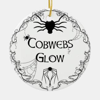 Ornamento De Cerâmica Fulgor dos Cobwebs