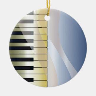 Ornamento De Cerâmica Fundo abstrato da música