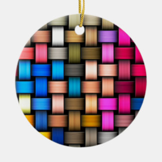 Ornamento De Cerâmica Fundo abstrato entrelaçado