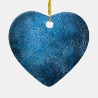 Ornamento De Cerâmica Fundo azul e preto