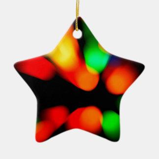 Ornamento De Cerâmica Fundo borrado da cor