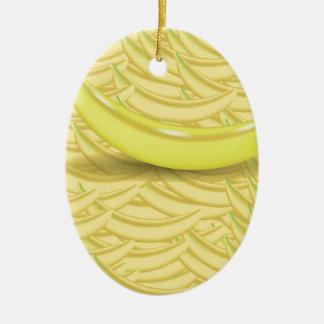 Ornamento De Cerâmica Fundo da banana