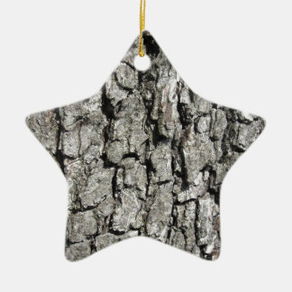 Ornamento De Cerâmica Fundo da textura do latido de árvore da pera