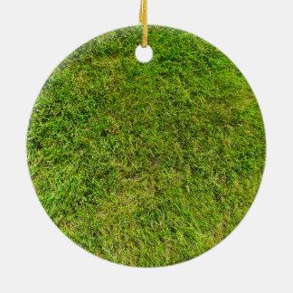 Ornamento De Cerâmica Fundo da textura do teste padrão da grama verde do