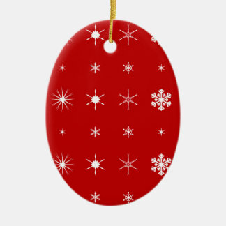 Ornamento De Cerâmica Fundo de papel do Natal