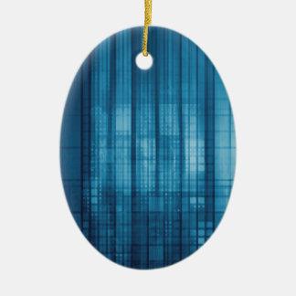 Ornamento De Cerâmica Fundo do mosaico da tecnologia como uma arte do