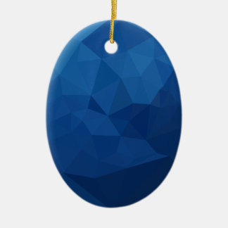 Ornamento De Cerâmica Fundo do polígono do abstrato egípcio do azul