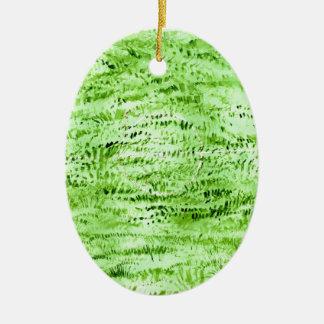Ornamento De Cerâmica Fundo verde do Grunge